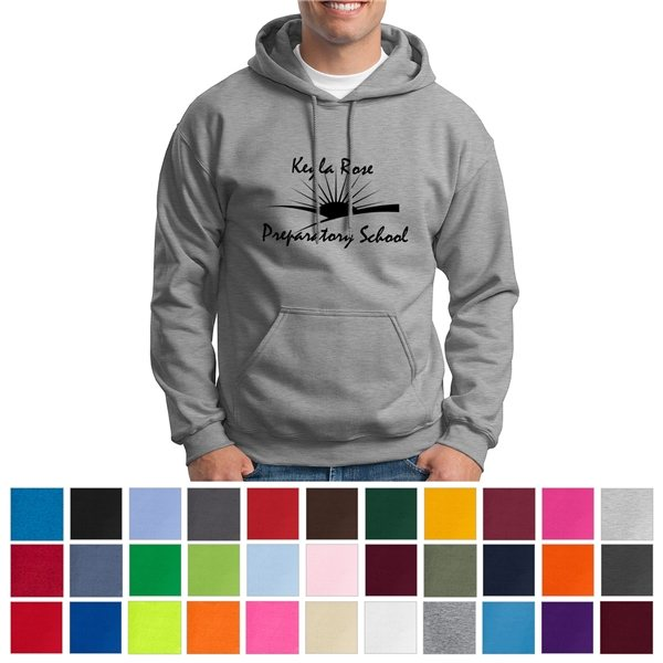 Promotional Gildan 50/50 Hooded Sweatshirt - Colors