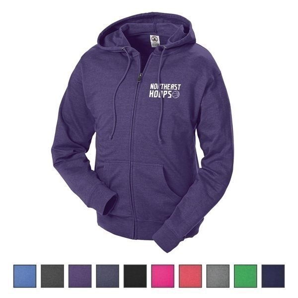 Promotional Delta(R) Adult Unisex French Terry Fleece Zip Hoodie