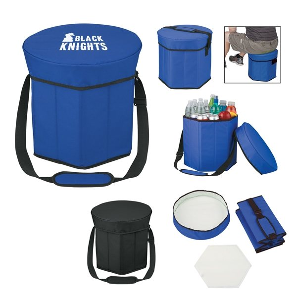 Promotional 600D Polyester Hexagon Seat Cooler