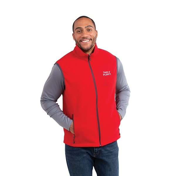 Promotional Tyndall Polyfleece Vest by TRIMARK - Mens