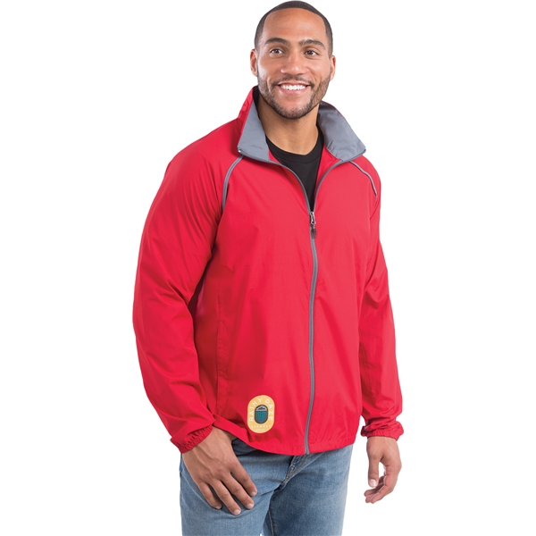 Promotional Egmont Packable Jacket by TRIMARK - Mens