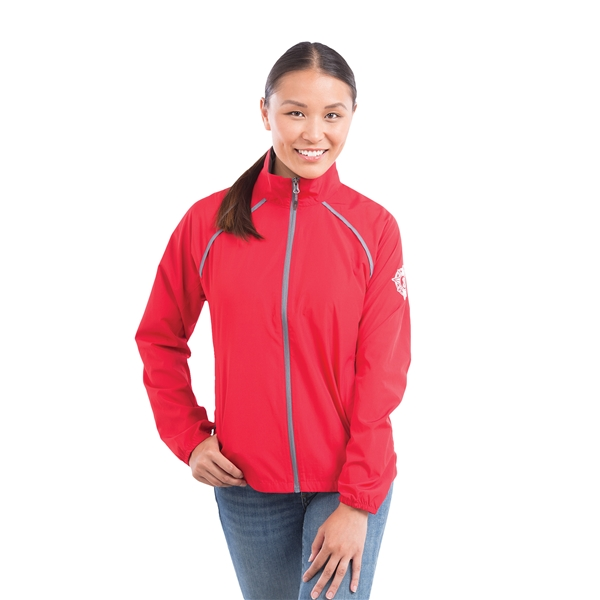 Promotional Egmont Packable Jacket by TRIMARK - Womens