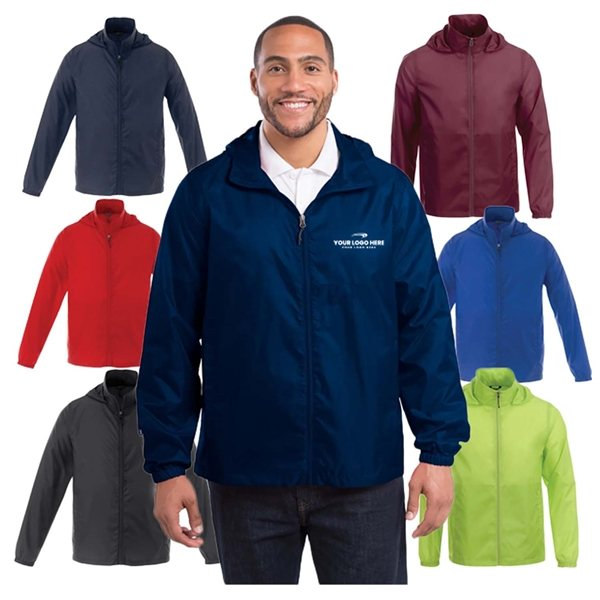 Promotional Darien Packable Lightweight Jacket by TRIMARK - Mens