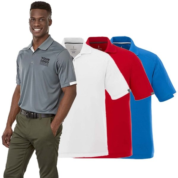 Promotional Kiso Short Sleeve Polo by TRIMARK - Mens