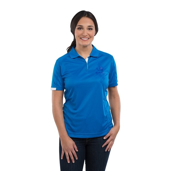 Promotional Kiso Short Sleeve Polo by TRIMARK - Womens