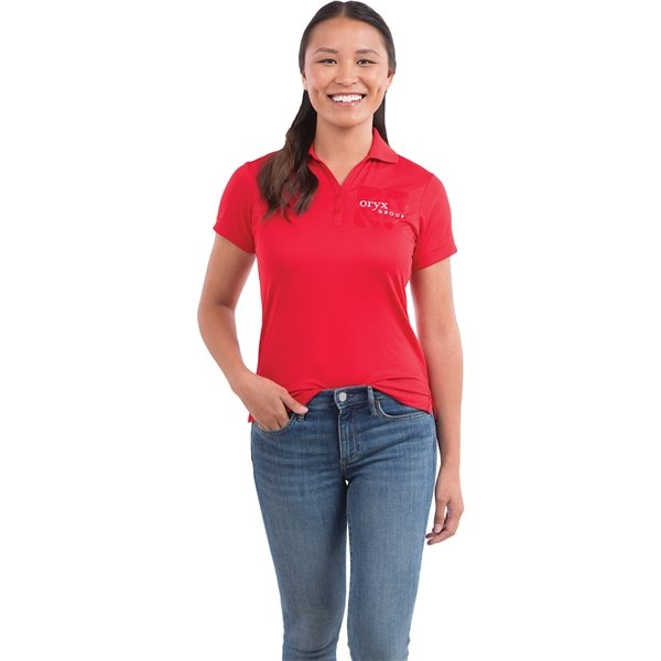 Promotional Moreno Short Sleeve Polo by TRIMARK - Womens