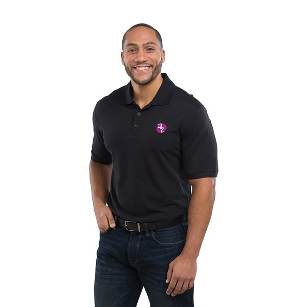 Promotional Crandall Short Sleeve Polo by TRIMARK - Mens