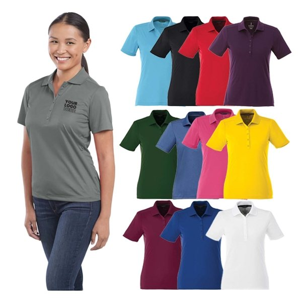 Promotional Dade Short Sleeve Polo by TRIMARK - Womens