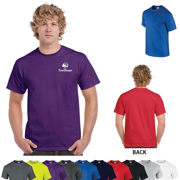 Promotional Gildan(R) Ultra Cotton(R) Classic Fit Adult T - Shirt - 6 oz - Colors - 2000