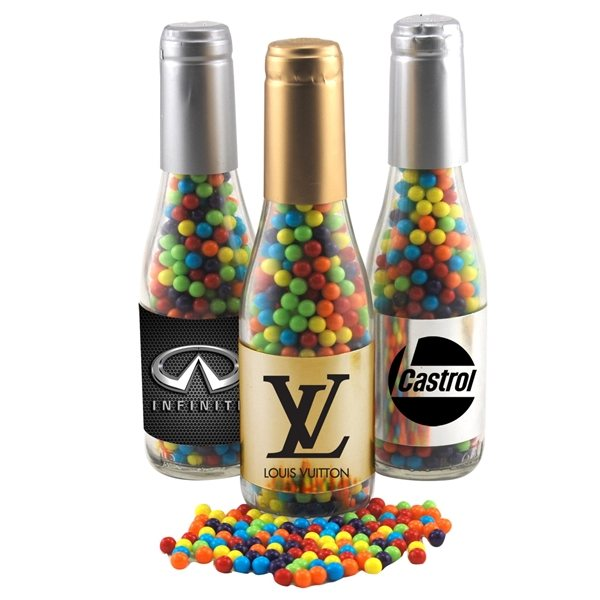 Promotional Small Champagne Bottle with Jaw Breakers Mini