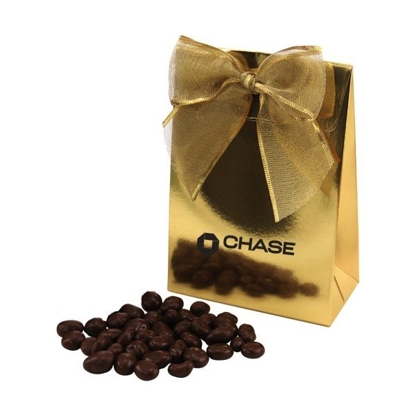 Promotional Gift Box with Chocolate Covered Raisins