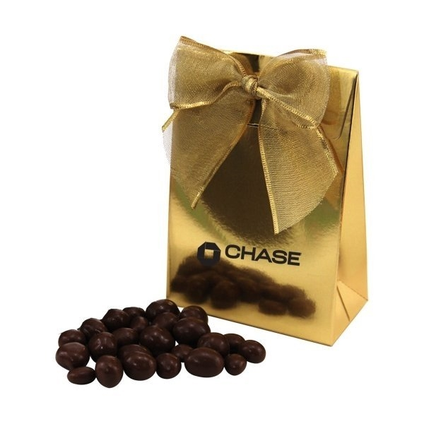 Promotional Gift Box with Chocolate Covered Peanuts
