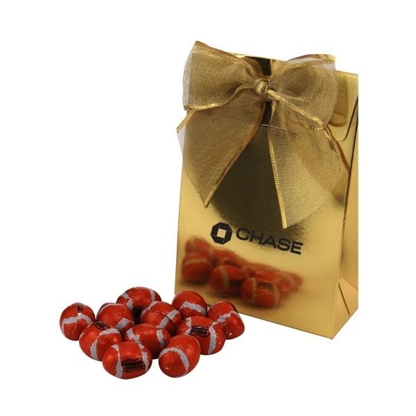 Promotional Gift Box with Chocolate Footballs