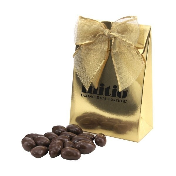 Promotional Gift Box with Chocolate Covered Almonds
