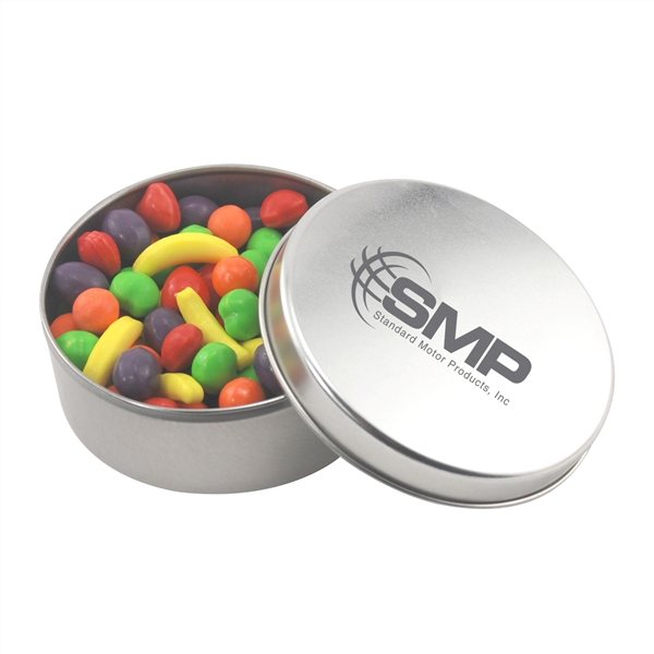 Promotional 3 1/2 Round Tin with Runts
