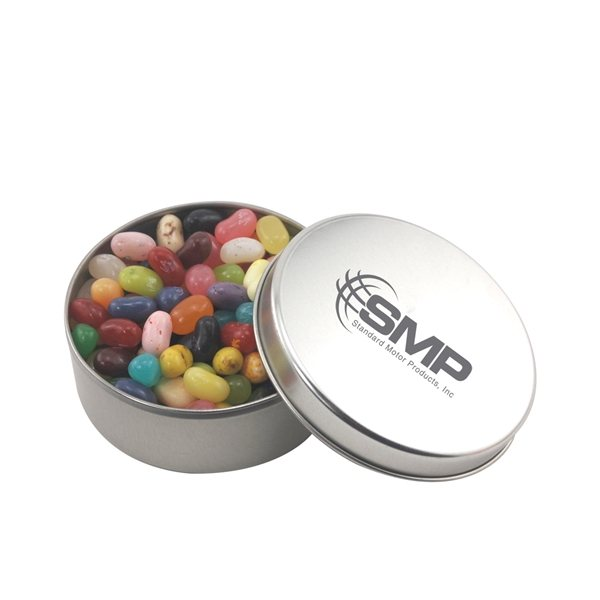 Promotional 3 1/2 Round Tin with Jelly Bellies