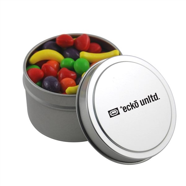Promotional 2 3/4 Round Tin with Runts