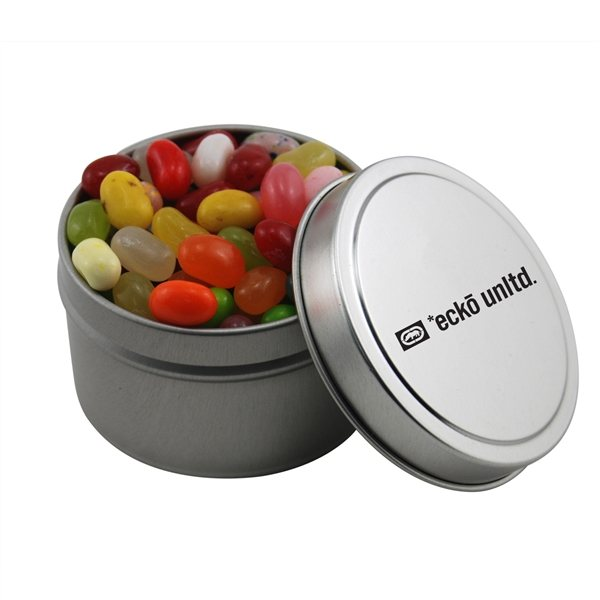 Promotional 2 3/4 Round Tin with Jelly Bellies