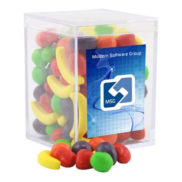Promotional Small Rectangular Acrylic Box with Runts