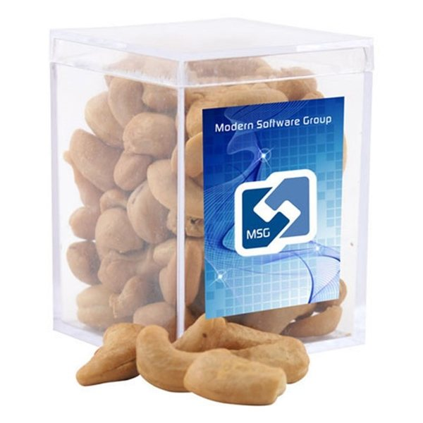 Promotional Small Rectangular Acrylic Box with Cashews