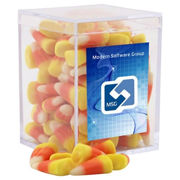 Promotional Small Rectangular Acrylic Box with Candy Corn