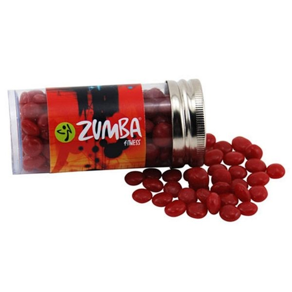 Promotional Small Plastic Tube with Red Hots
