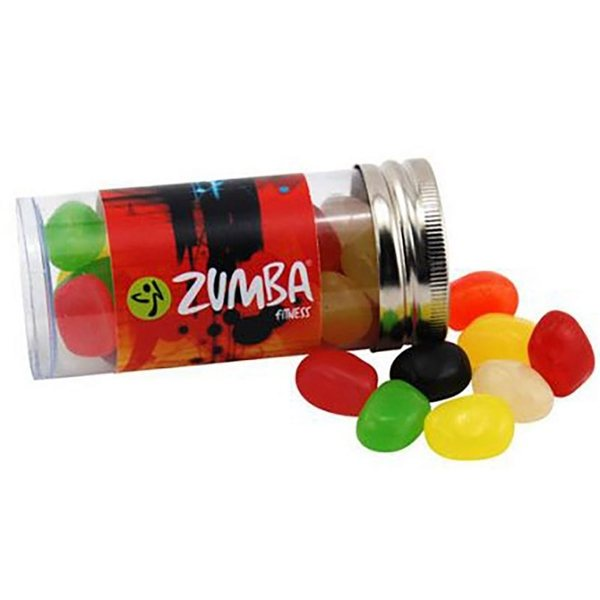 Promotional Small Plastic Tube with Jelly Beans