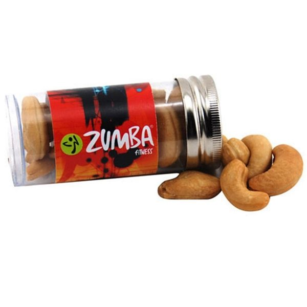 Promotional Small Plastic Tube with Cashews