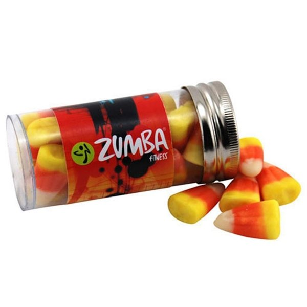 Promotional Small Plastic Tube with Candy Corn