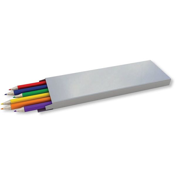 Promotional Colored Pencils - 6 Pack