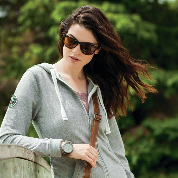Promotional Sandylake Roots73 F / Z Hoody By TRIMARK - Womens