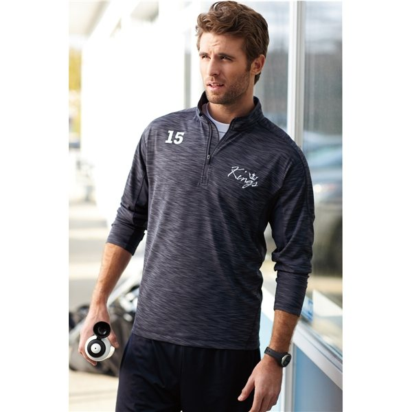 Promotional Yerba Knit Quarter Zip By TRIMARK - Mens