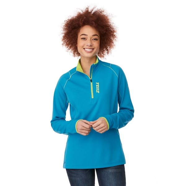 Promotional Knew Knit Half Zip By TRIMARK - Womens