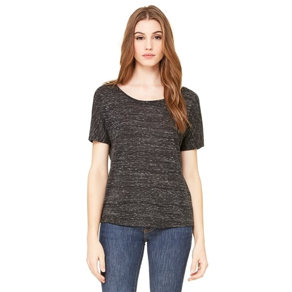 Promotional BELLA + CANVAS Slouchy T - Shirt - 8816 - MARBLES