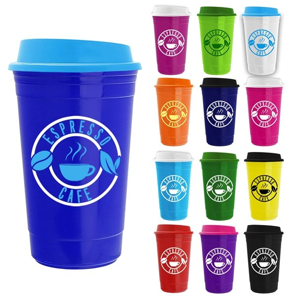 Promotional The Traveler - 16 oz Insulated Cup