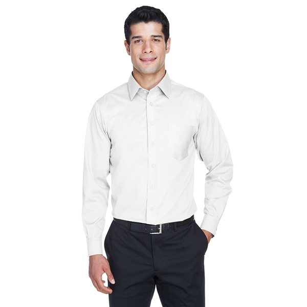 Promotional Devon Jones(R) Tall Crown Woven Collection(TM) Solid Stretch Twill - WHITE