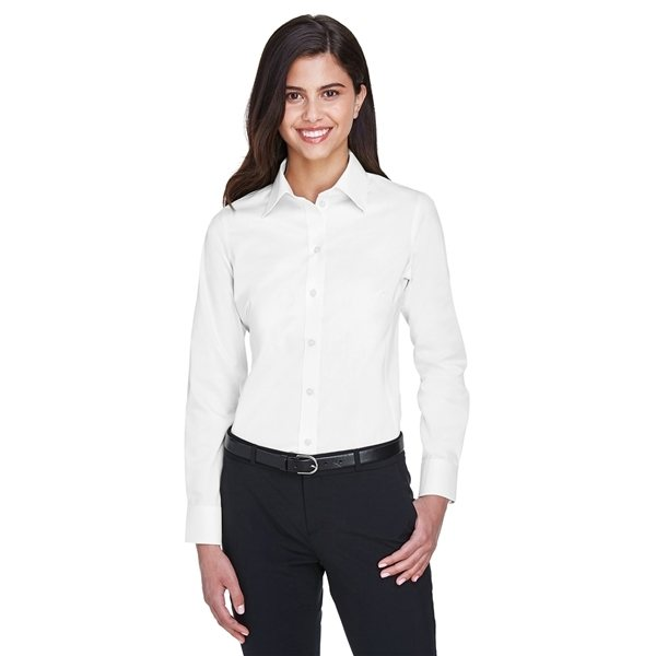 Promotional Devon Jones(R) Crown Woven Collection(TM) Solid Stretch Twill - WHITE
