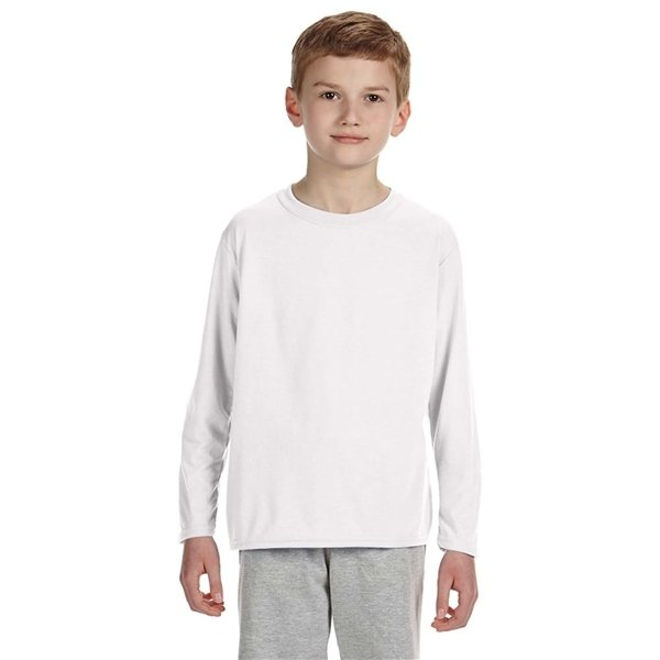 Promotional Gildan(R) Performance(R) Youth 5oz Long - Sleeve T - Shirt