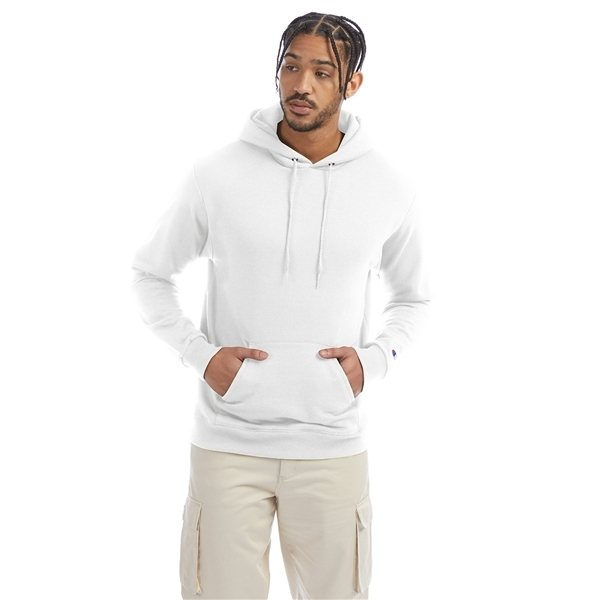 Promotional Champion 9 oz Double Dry Eco(R) Pullover Hood - WHITE