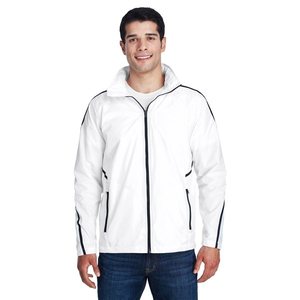 Promotional Team 365(R) Conquest Jacket with Mesh Lining - WHITE