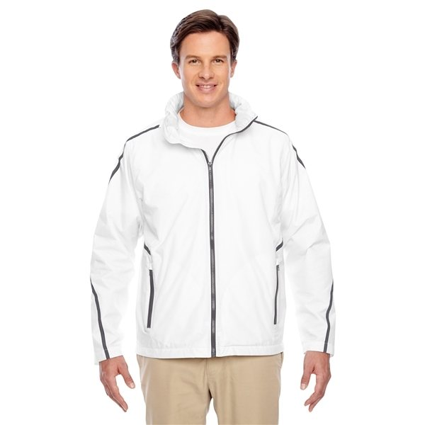 Promotional Team 365(R) Conquest Jacket with Fleece Lining - WHITE