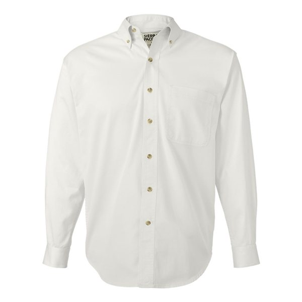 Promotional Sierra Pacific Long Sleeve Cotton Twill Shirt