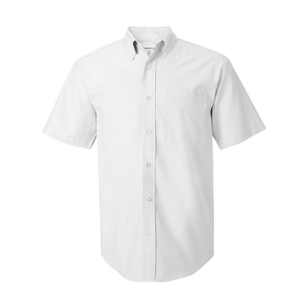 Promotional FeatherLite(R) Short Sleeve Oxford Shirt