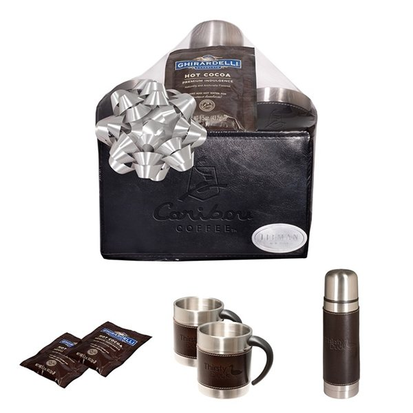 Promotional Empire(TM) Thermos Cups Ghirardelli(R) Cocoa Set