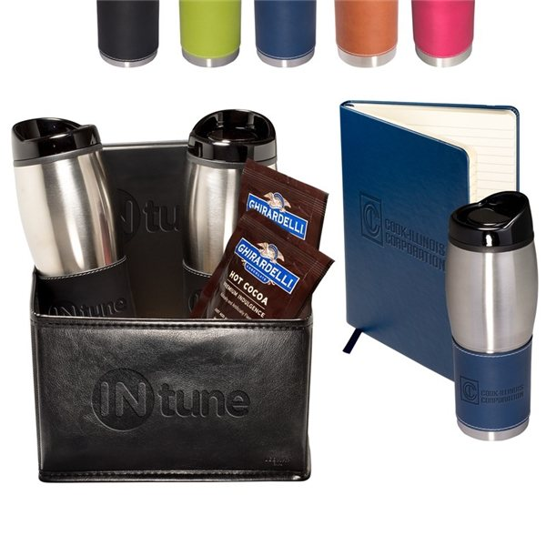 Promotional Tuscany(TM) Tumblers Journal, Ghirardelli(R) Cocoa Set