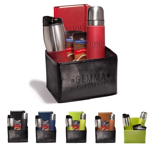 Promotional Tuscany(TM) Thermos, Tumbler Journal and Ghirardelli(R) Gift Set