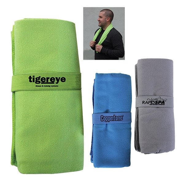 Promotional Fold - Away Absorbent Towel