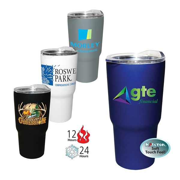 Promotional 20 oz Halcyon(TM) Tumbler, Full Color Digital