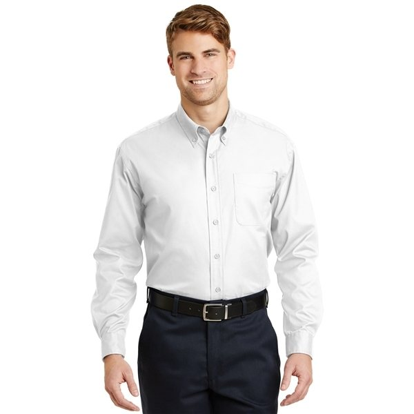 Promotional CornerStone Long Sleeve SuperPro Twill Shirt