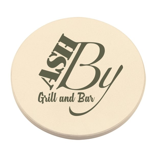 Promotional Round Absorbent Coaster